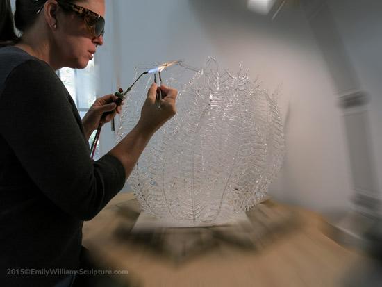 Emily Williams esculturas de vidro de criaturas marinhas vida natureza