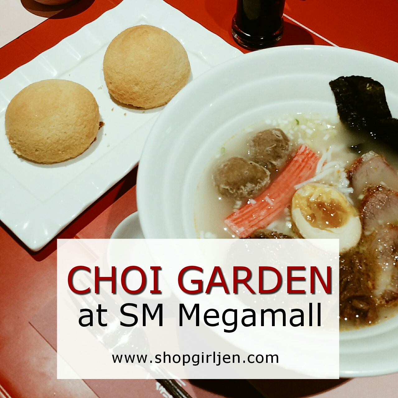 Shopgirl jen taste the authentic chinese cuisine at choi for Authentic chinese cuisine