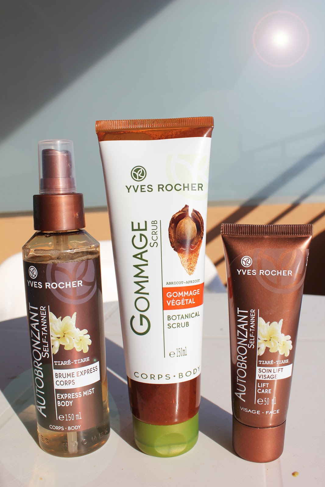 fashion in oslo yves rocher self tanning test