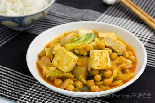 韓式豆腐鷹嘴豆  Korean Style Tofu & Chickpeas02