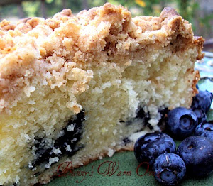 Ina&#39;s Blueberry Crumb Coffee Cake