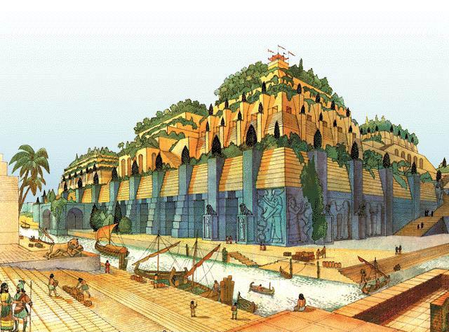 Milenioscopio Jardines Colgantes de Babilonia