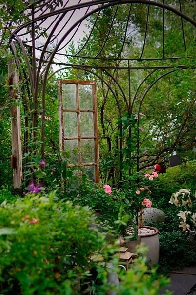 Moois en liefs tuin - Idee deco klein terras ...