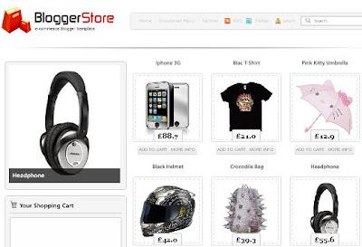 besplatna internet prodavnica Blogger store