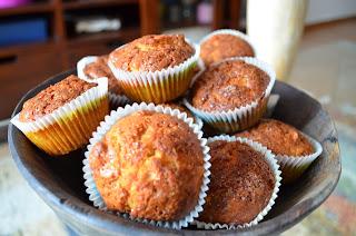 muffins de manzana, receta original