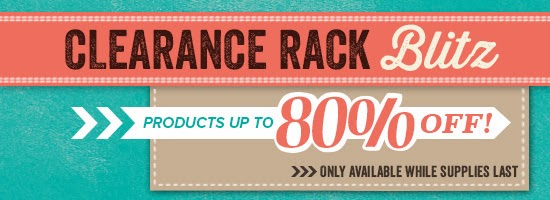 Shop the Stampin' Up clearance rack with Vicky Hayes at Crafting Clare's paper moments
