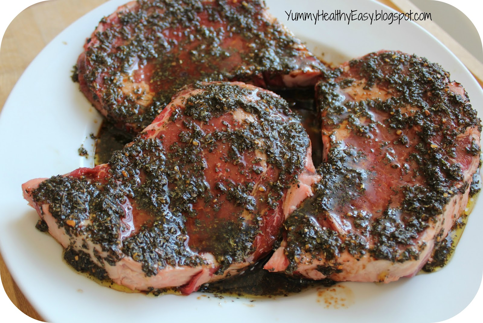 The BEST Steak Marinade - Yummy Healthy Easy