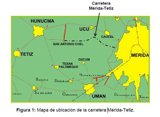 Yucatn Anecdtico Recorrido por la carretera MridaCelestn