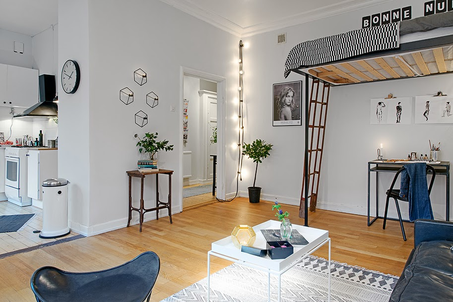 Space Saving Ideas From A Fab Swedish Home