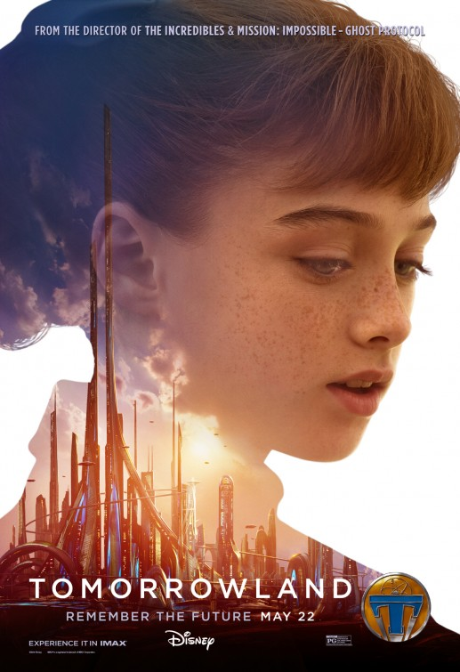 Tomorrowland Athena movie poster