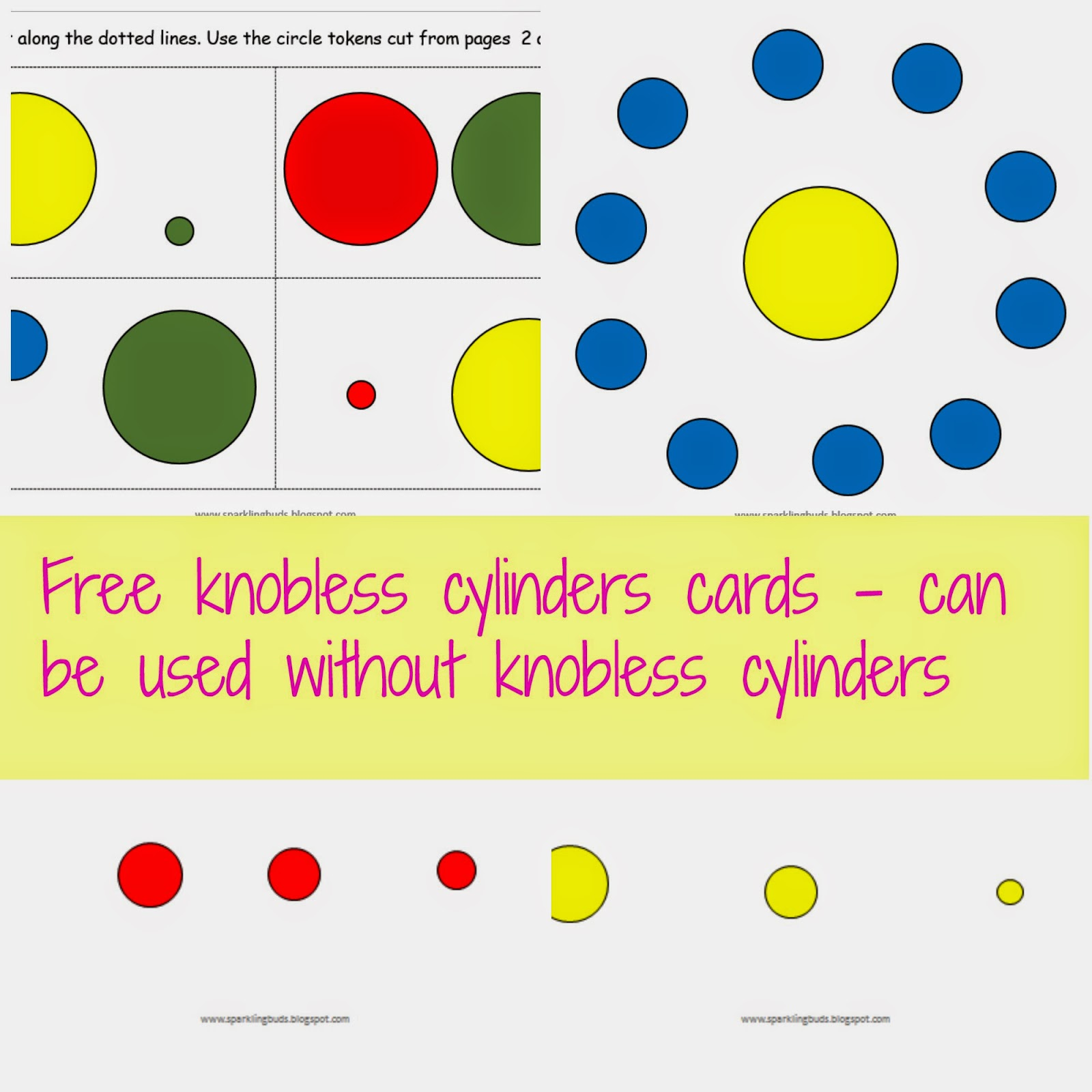 free knobless cylinders cards for toddlers sparklingbuds