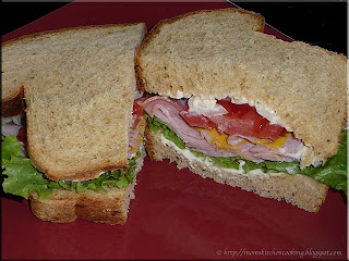 power sandwich made with Italian seasoned bread