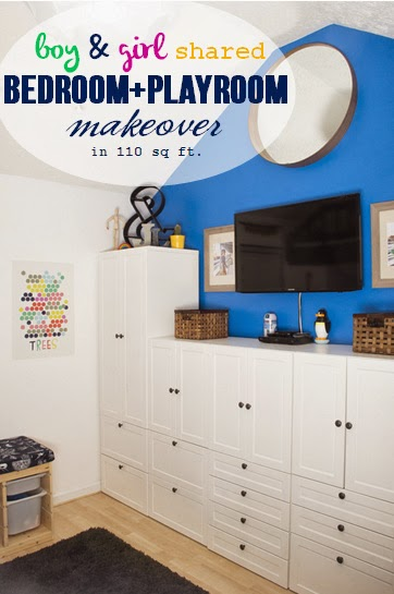 Doing This Kids Room Makeover With Ikea Was An Absolute Dream Come True They Were My 1 Pick In All The Universe To Work With And It Actually