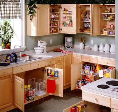 Ez decorating know how how to re organize your kitchen Organizing kitchen cabinets and drawers