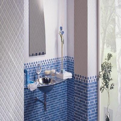 Terra antiqva baldosas azulejos zaragoza azulejos - Baldosas gresite para banos ...