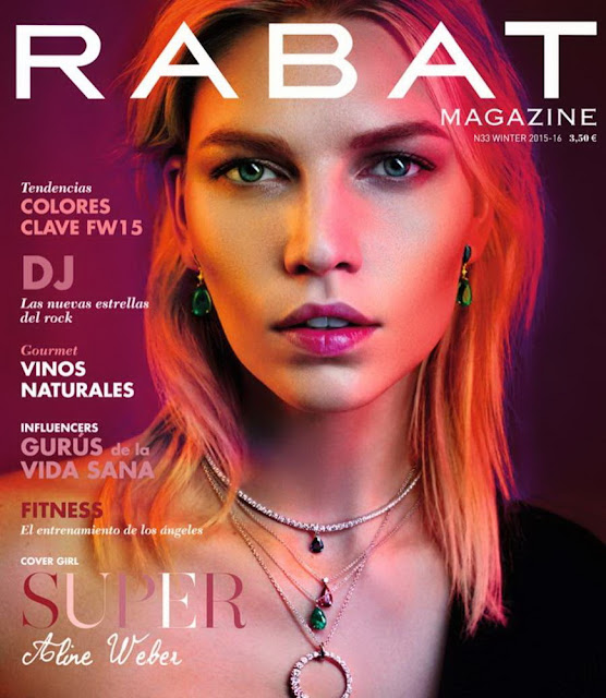 Fashion Model, @ Aline Weber - RABAT Magazine, Winter 2015