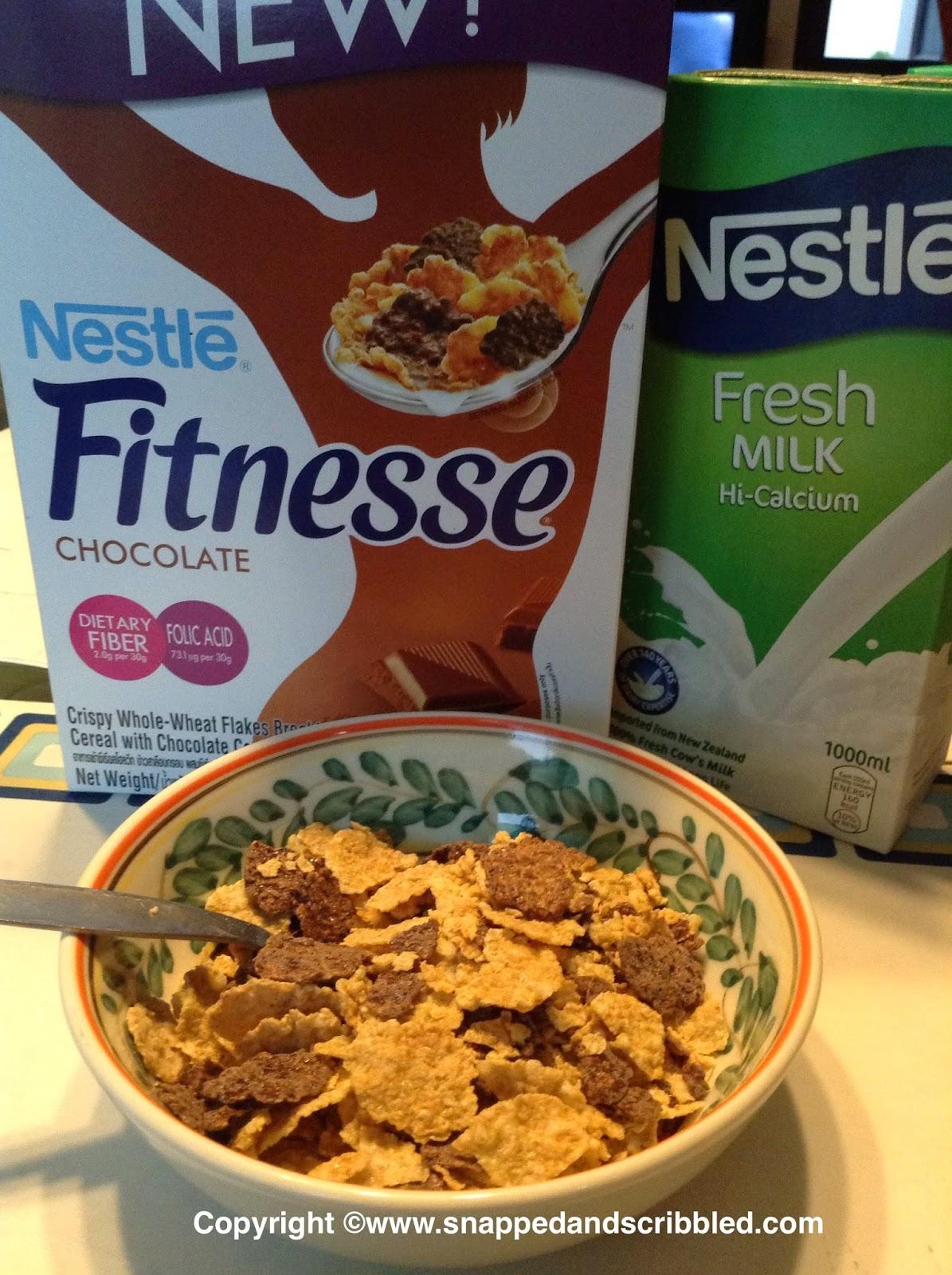 Healthy Breakfast: Nestle Fitnesse Chocolate