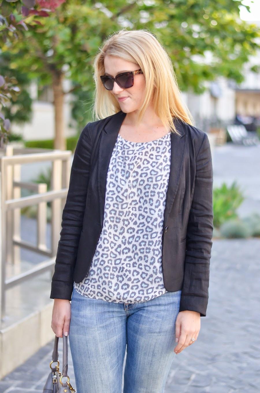 The Black Wedge   Current Elliott Boyfriend Jeans + Anyi Lu Black Wedge Sandals   Luci's Morsels :: LA Fashion Blogger