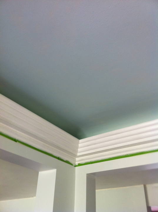 Midwestern Malaise Colored Ceilings