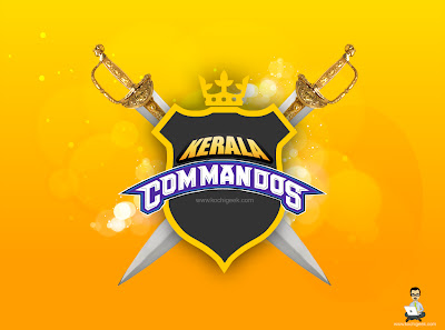Kerala Commandos Logo With Sword