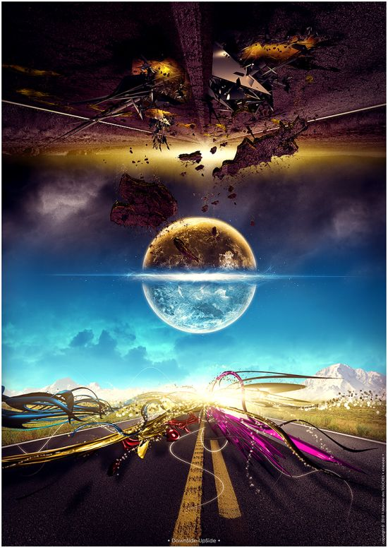 Maxime des Touches aka elreviae ilustrações digitais surreal abstrata fantasia ficção photoshop