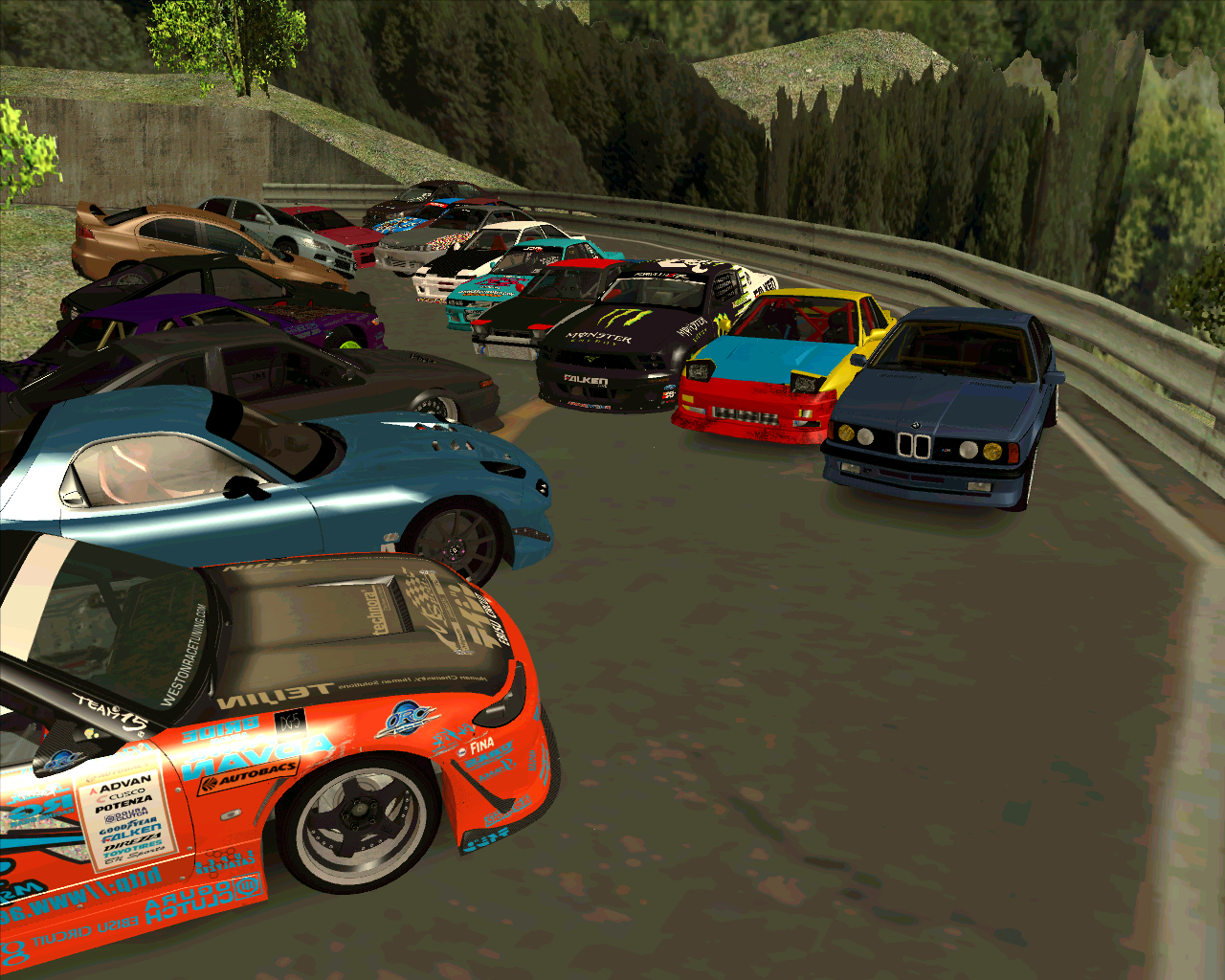 Gta Sa Bolla Mods: Bolla Drift Cars Collection Car pack + DL + Drift ...