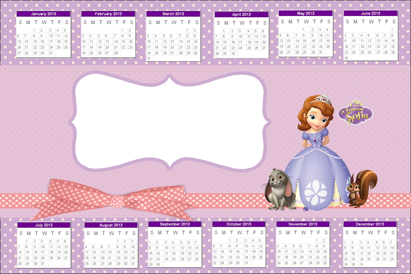 Princess Sofia the First: Party Free Printables. | Is it ...