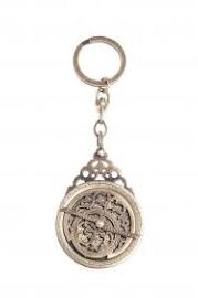 Astrolabe Keyring