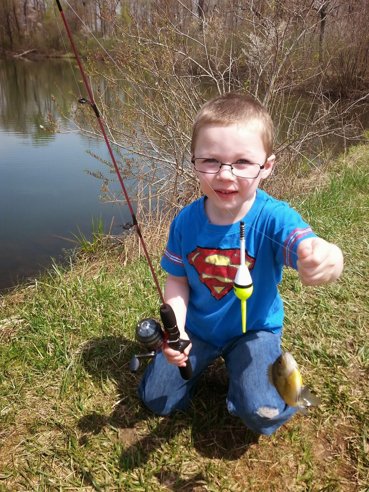 How to take your child fishing the western new yorker for Where do you get a fishing license