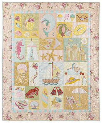 Quilt Pattern by Verna Mosquera for the Vintage Spool