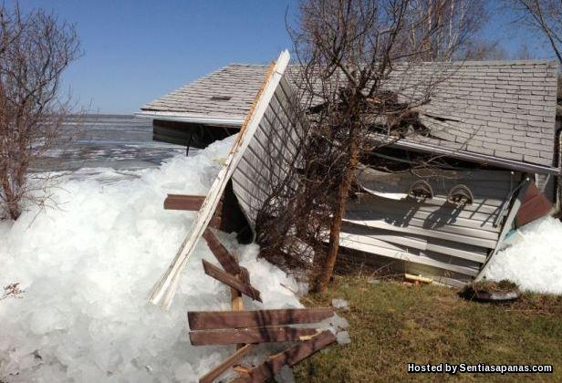 Ice Shove, Mille Lacs, Minnesota [3]