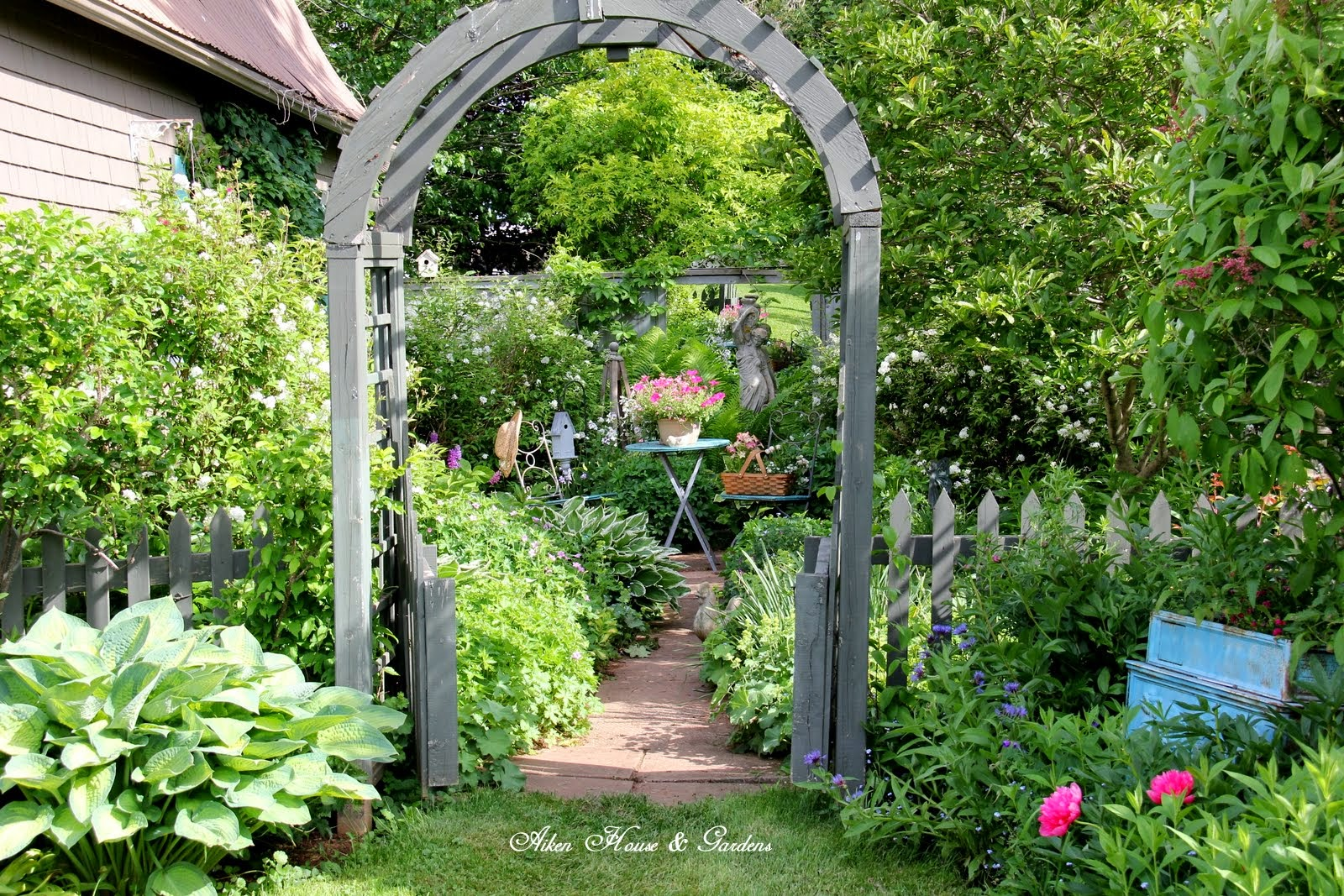 Aiken House Amp Gardens Garden Arbors