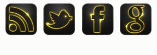 إضافة المتابعة عبر الشبكات الاجتماعية