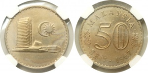 1967 50 cents