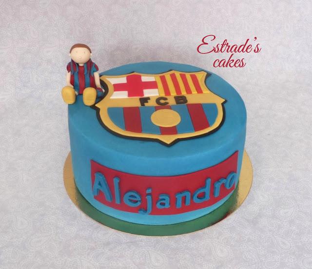 tarta del Barcelona 1