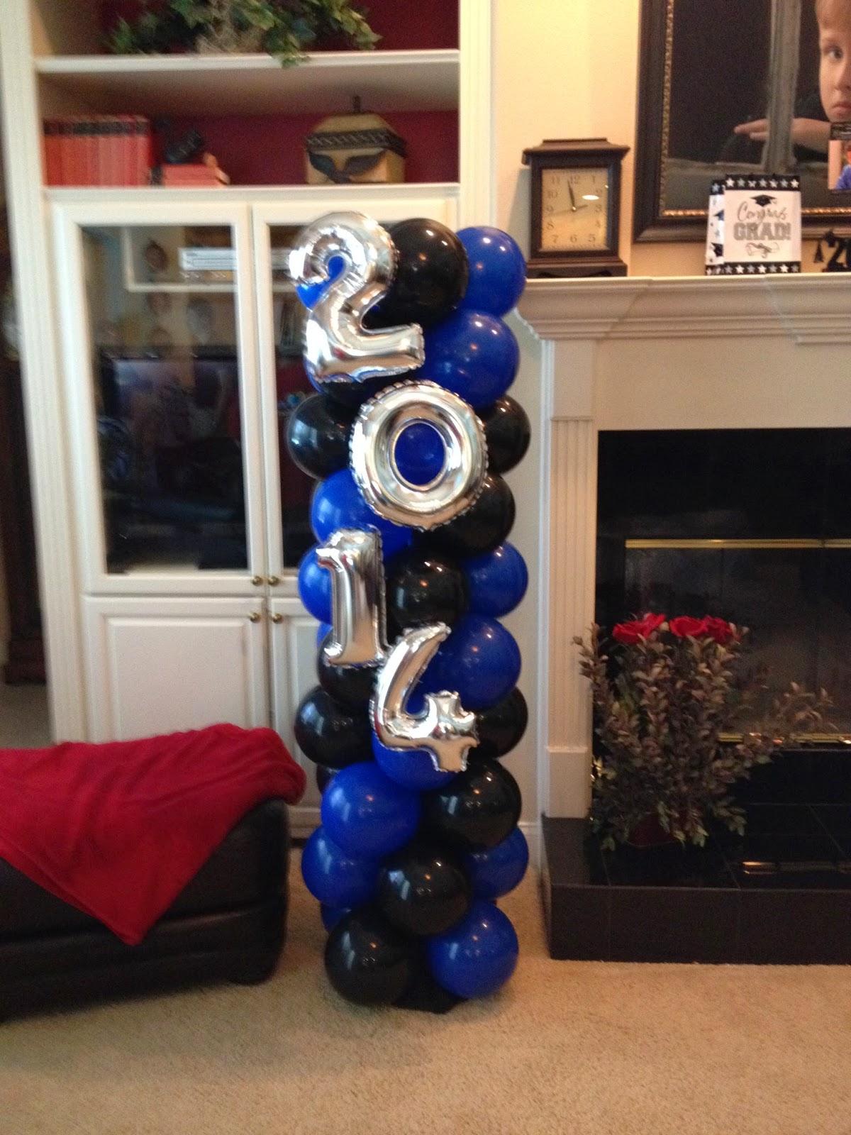 2014 graduation decorations - Graduation 2014 Lcs Indoor And Pool Balloons Lakeland Florida