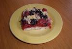 Kysnutý koláč s ovocím
