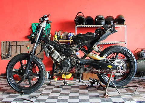 Modifikasi CS One, CS 1 Street Fighter