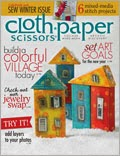 Cloth Paper Scissors Nov/Dec 2013