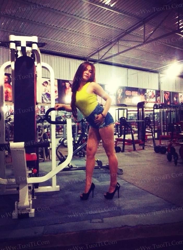 Ảnh gái xinh Trang Lee Socute Bé mà dâm 3