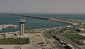 صورة جسر الملك فهد الواصل البحرين مع المملكة العربية السعودية