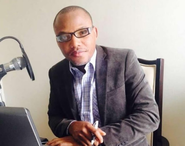 Nnamdi Kanu Apologises To Pres. Buhari, Jonathan And Igbo Elders