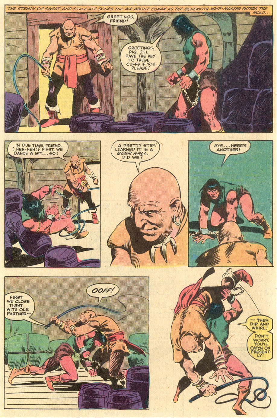 Conan the Barbarian (1970) Issue #140 #152 - English 4