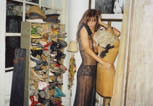 Helena Christensen closet