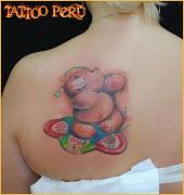 tatuajes infantiles tatuajes de ositos lindos