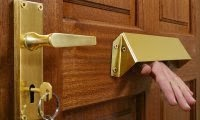 Keytek 24hr emergency locksmiths can fit a letterbox guard or cage to your door to reduce Key Fishing