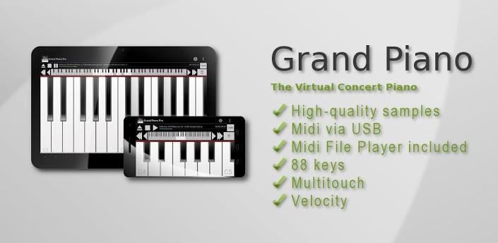 Otro piano para Android, cada vez son mejores :P
