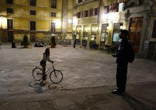 Italian flirtation maybe?  Florence, Italy