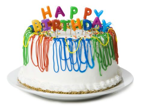Wish you happy birtday cake image facebook chat emoticon