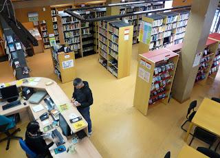 Biblioteca Pública de Contrueces, en Gijón, Asturias